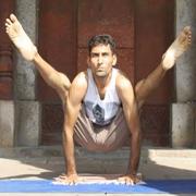 Yogi Akshey at Mahi Yoga Centre