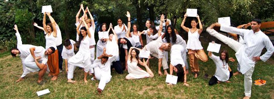 graduation at mahi yoga