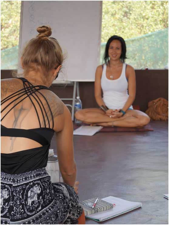 Learning at Mahi yoga rishikesh