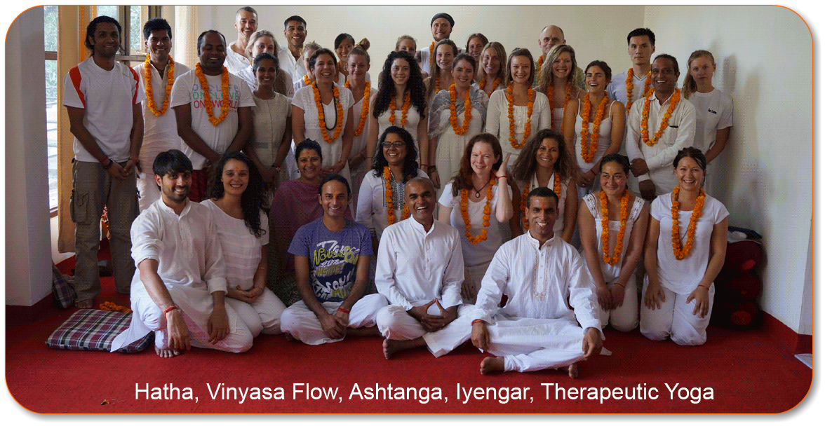 Yoga courses in Dharamsala to choose from