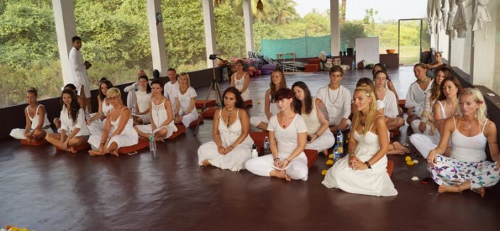 Graduation Ceremony at Mahi Yoga Centre in goa