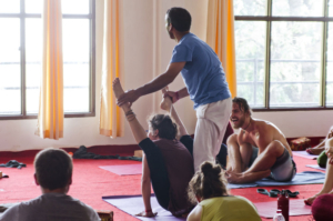 Meaning of Therapeutic yoga
