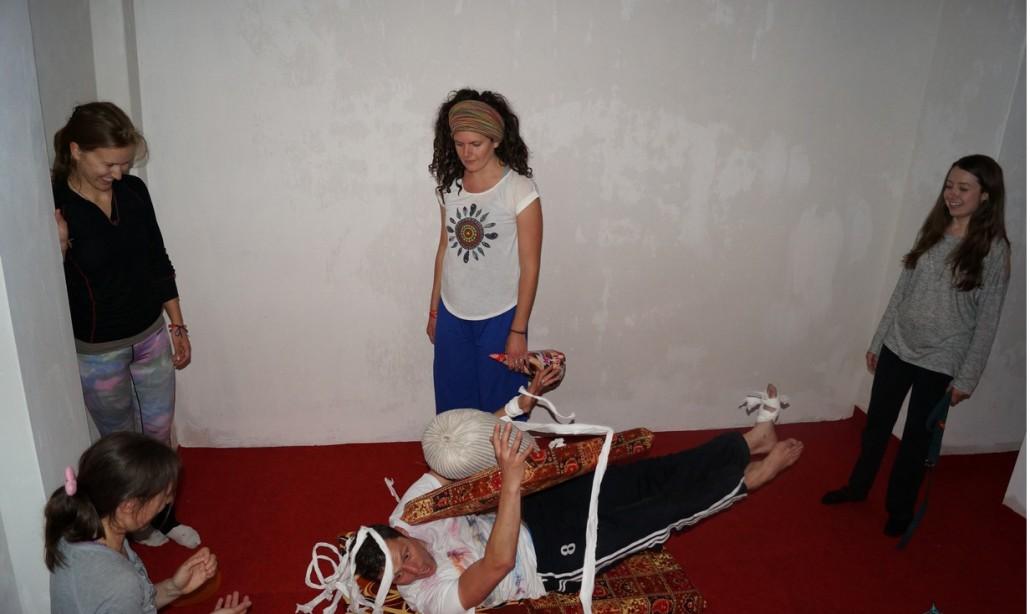yoga teacher training while having fun