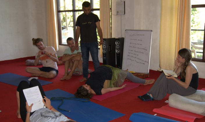 Therapeutic Yoga at Mahi Yoga Centre india