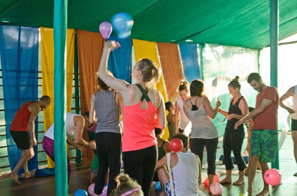 Fun and learn at Mahi Yoga Centre