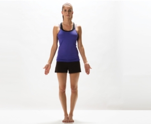 Tadasana Mountain Pose at Mahi Yoga Centre