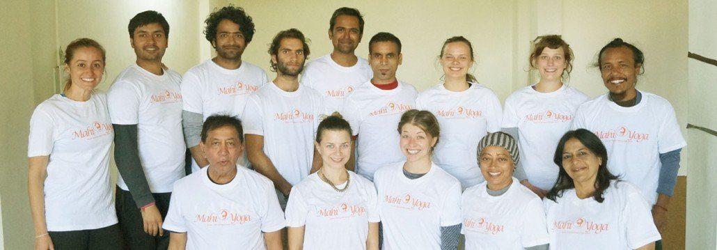 mahi yoga teacher training batch 2014