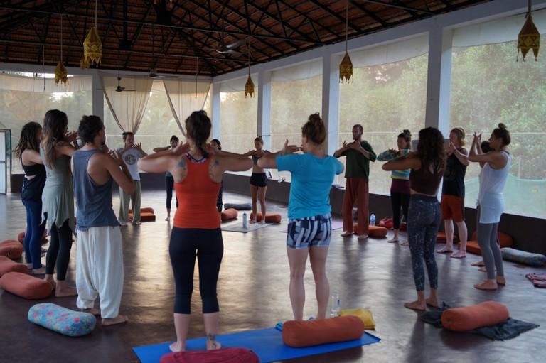 Ashtanga Vinyasa at Mahi Yoga Dharamsala