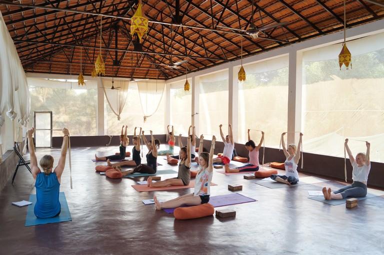 Ashtanga Vinyasa at Mahi Yoga india