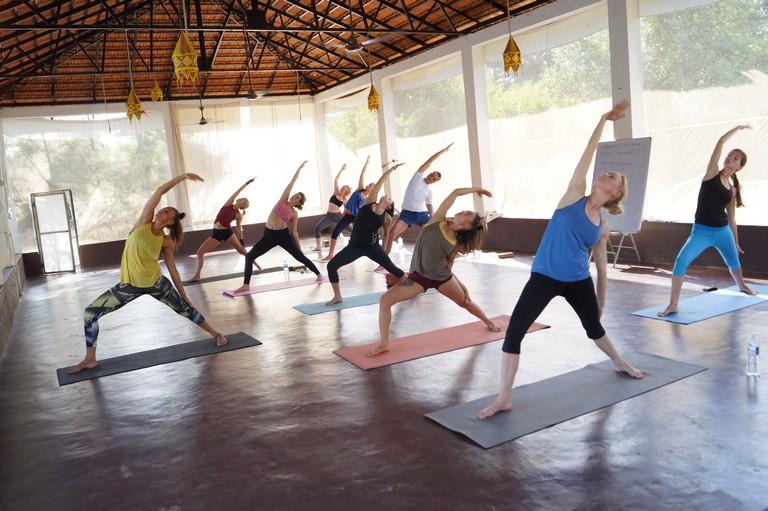 Best yoga teacher training in India