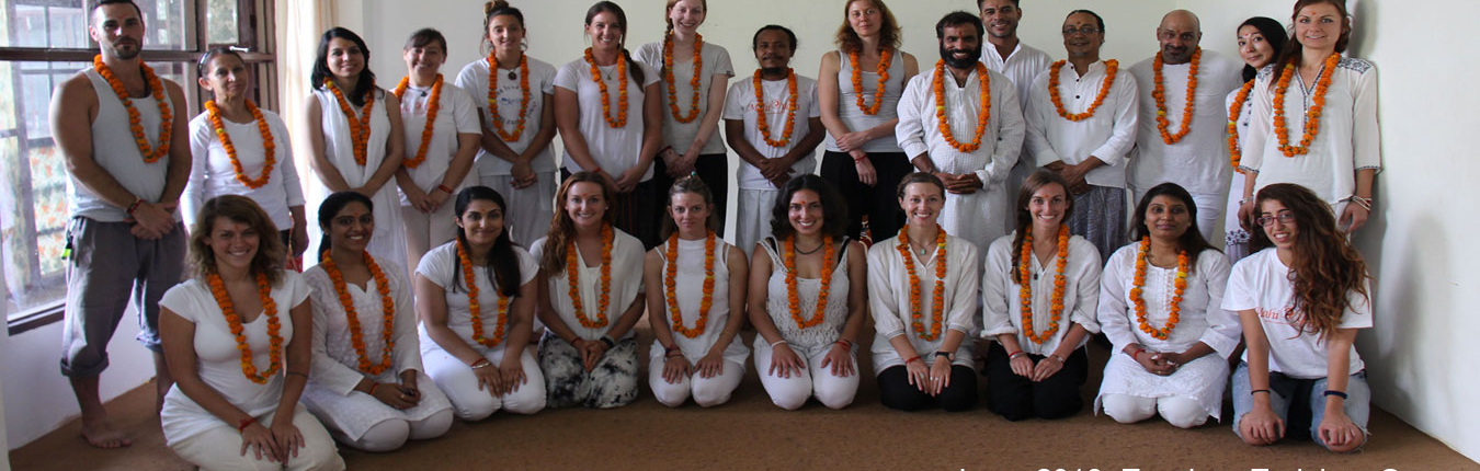 Yoga Teacher Training in India batch 2016