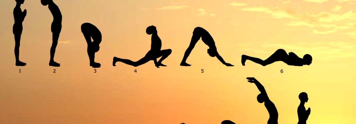 Surya Namaskar at Mahi yoga