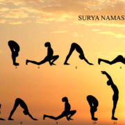 Surya Namaskar at Mahi yoga