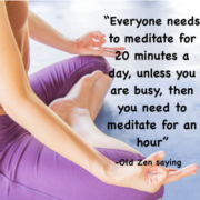 Useful Tips for Practice of Meditation