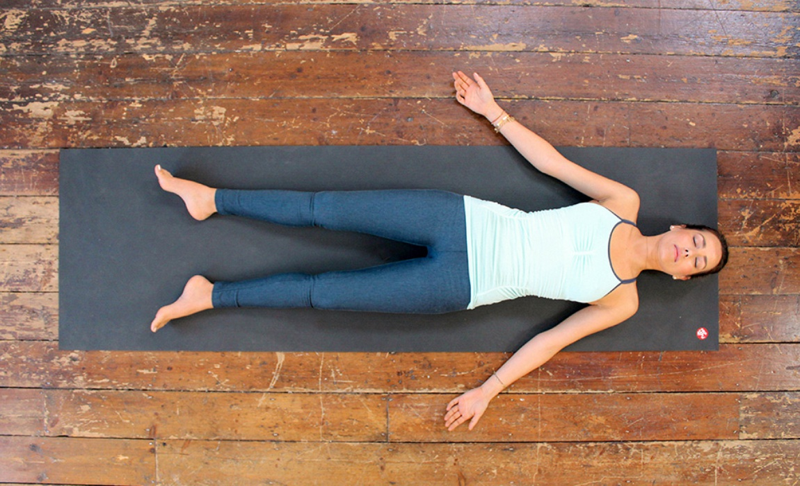Savasana at Mahi Yoga